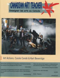 Canadian Art Teacher - cover