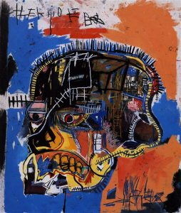 Jean-Michel Basquiat, Untitled (Skull)
