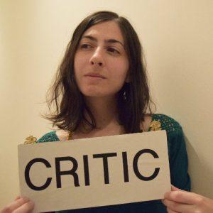 Jillian Steinhauer, Critic