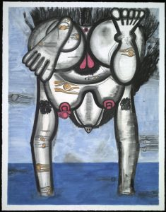 Carroll Dunham - Untitled (July-30-2014)
