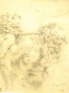 Delacroix, Drunken Silenus after Rubens