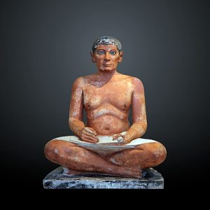Seated Scribe - Ancient Egyptian