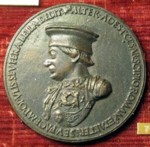 Clemente medal of Federico da Montefeltro